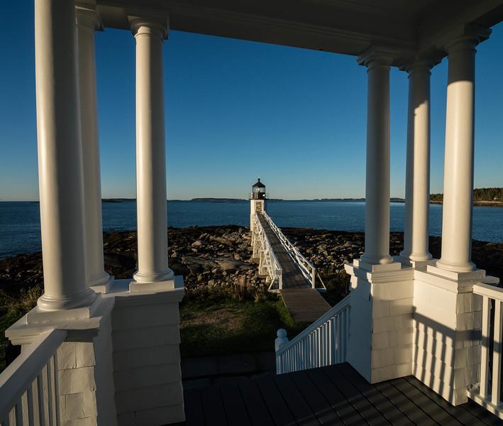 •Marshall Point Lighthouse, Port Clyde, Maine