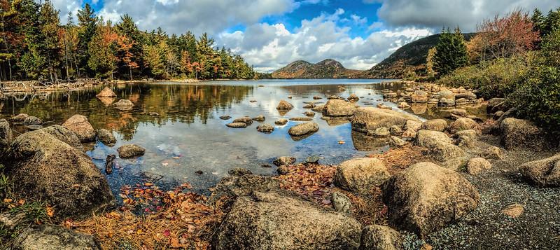 Jordan Pond and the Bubbles, Acadia National Park, Maine