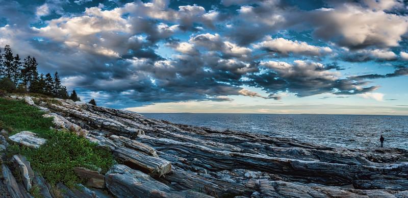 Near Pemaquid Point Lighthouse, Bristol, Maine
