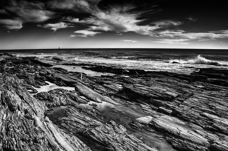 Cape Elizabeth shoreline