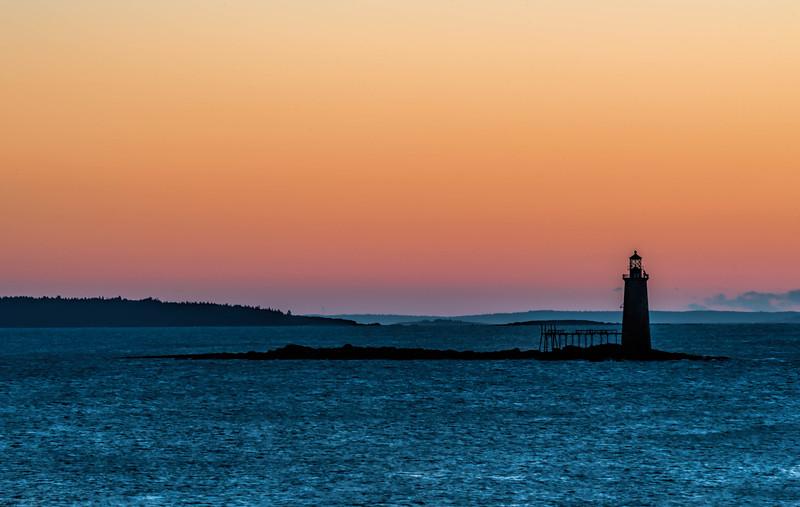 •Ram Island Ledge Lighthouse, Cape Elizabeth, Maine