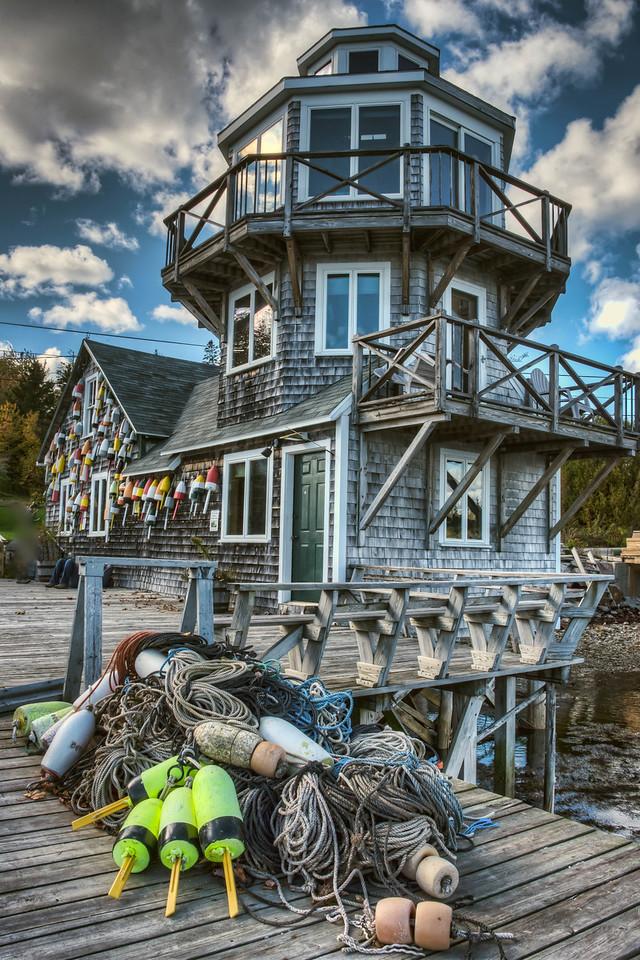 •Bernard Point, Bernard, Maine