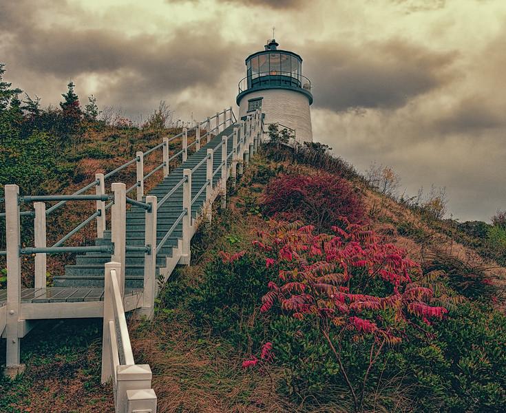 Owl's Head lighthouse