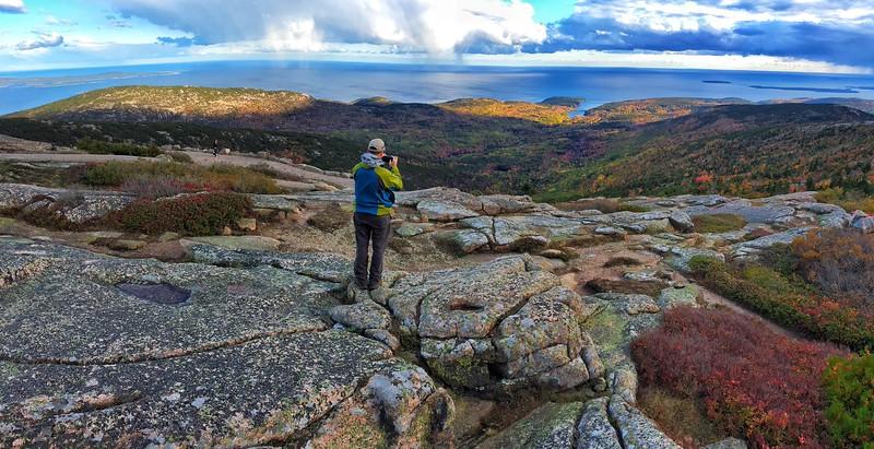 Cadillac Mountain overlook, Acadia National Park
