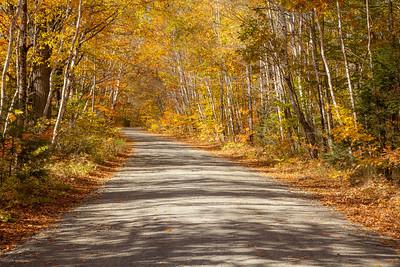 Katahdin Ironworks Road, north of Brownsville, Maine