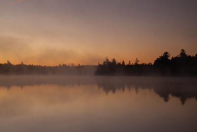 Sunrise at Kidney Pond, Baxter State Park