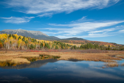 Mt. Katahdin and Abol Stream