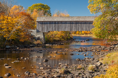 Lowes Covered Bridge, Piscataquis River, Guilford, Maine