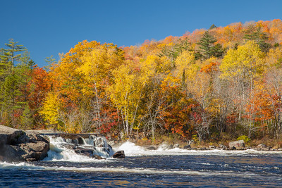 Nesowadnehunk Falls, West Branch Penobscot River, North Maine Woods