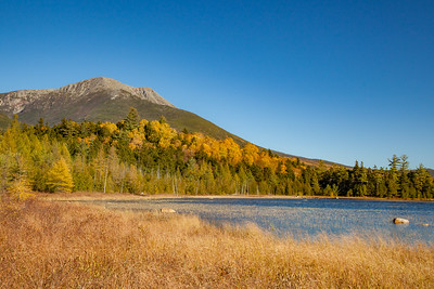 Mt.  Katahdin and Tracey Pond, Baxter State Park