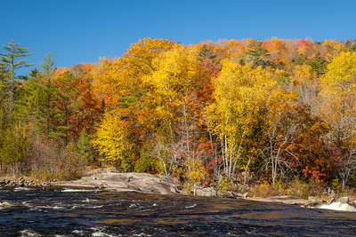 West Branch  Penobscot River at Nesowadnehunk Falls