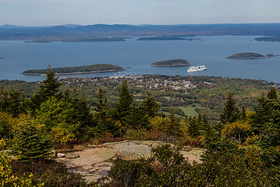 Bar Harbor - from Cadillac Mountain