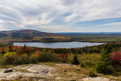 Eagle Lake - from Cadillac Mountain