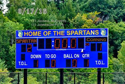 ME (2) Corning (1) Boys Varsity Soccer 9/17/16