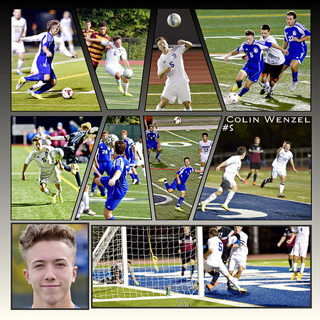 M-E Boys Varsity Soccer Collages 2015
