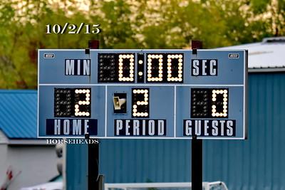 ME (0) Horseheads (2) Boys Varsity Soccer 10-2-15