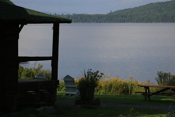 Lower Richardson Lake at Lakewood Camps, Middle Dam, Maine
