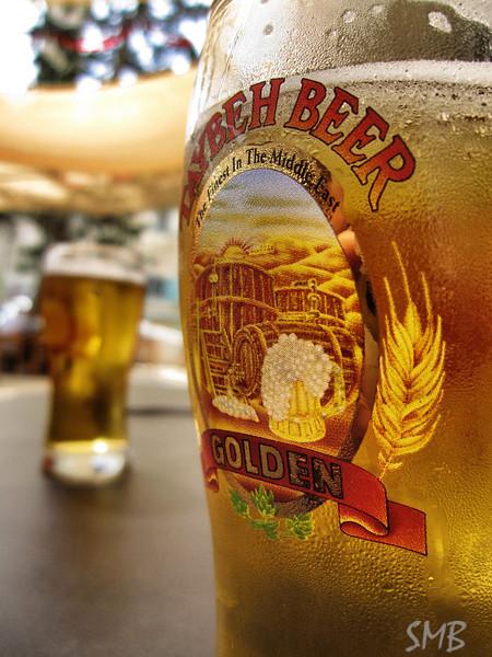 Yummy Palestinian beer... Taybeh<br /> <br /> Bethlehem, Palestine