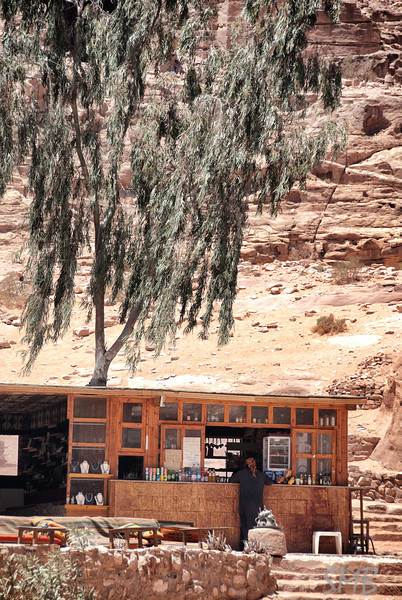 The cafe at the Monastery<br /> <br /> Petra, Jordan