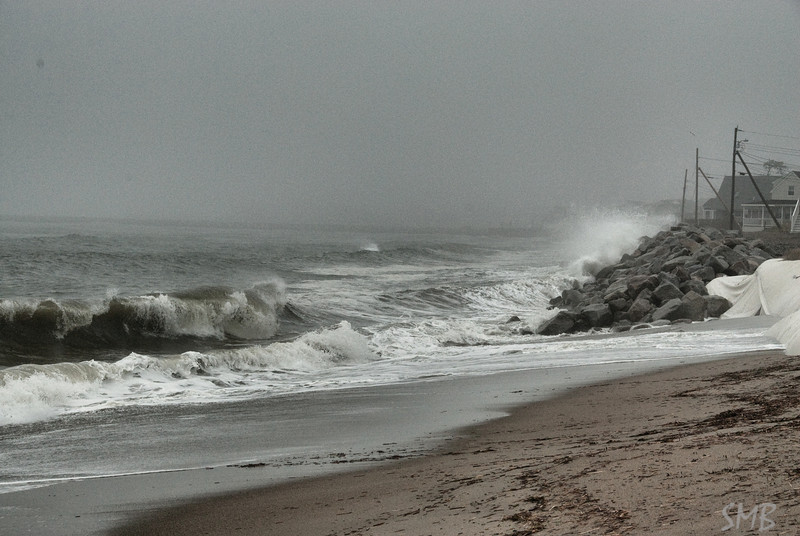 As always happens when I go home there was a good storm! The Atlantic is so moody.<br /> <br /> Ferry Beach, Maine