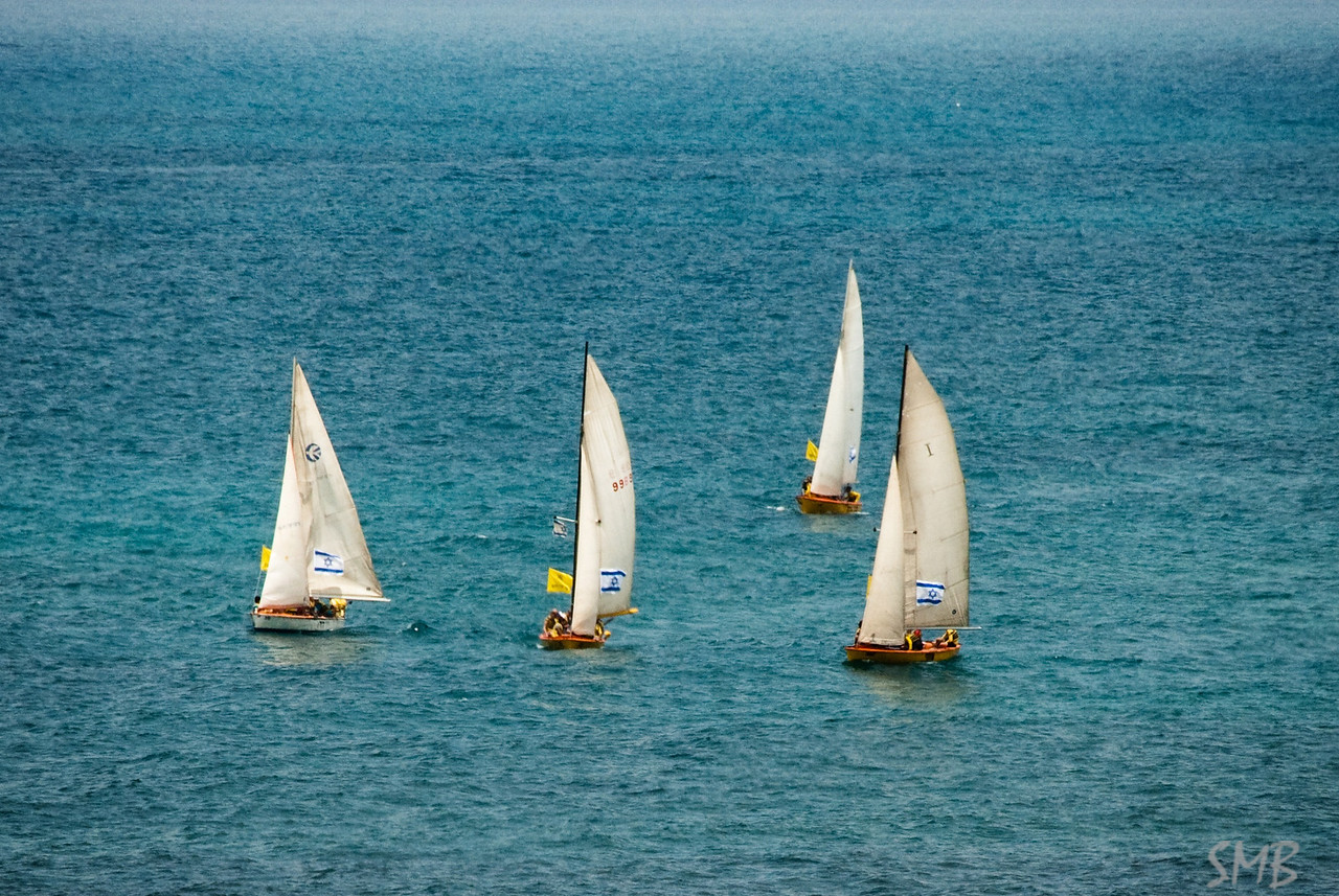 Sailing on the Mediterranean<br /> <br /> Tel Aviv, Israel