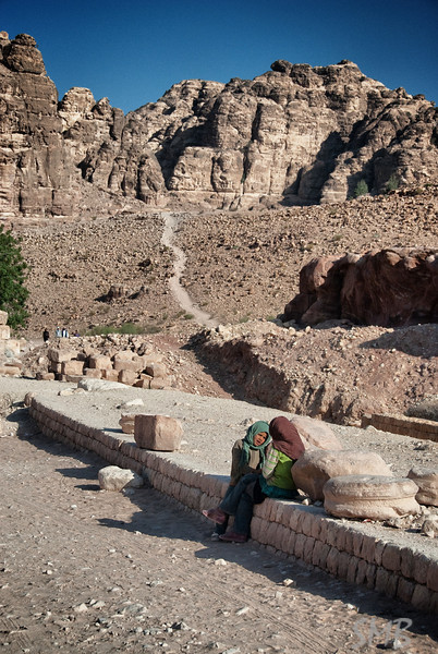 we've got a long trail ahead of us<br /> Petra, Jordan