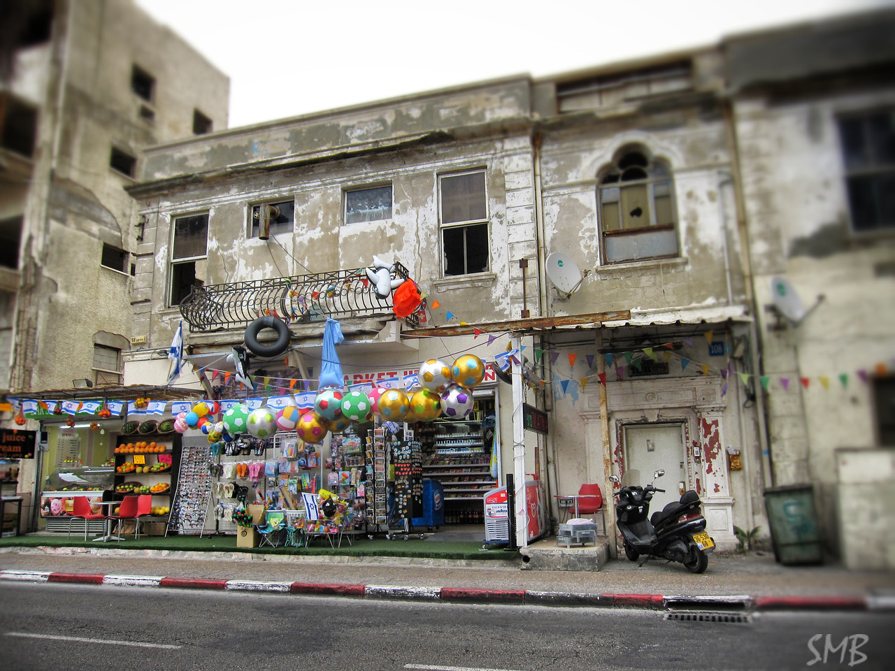 store down the block from our hotel<br /> <br /> Tel Aviv, Israel