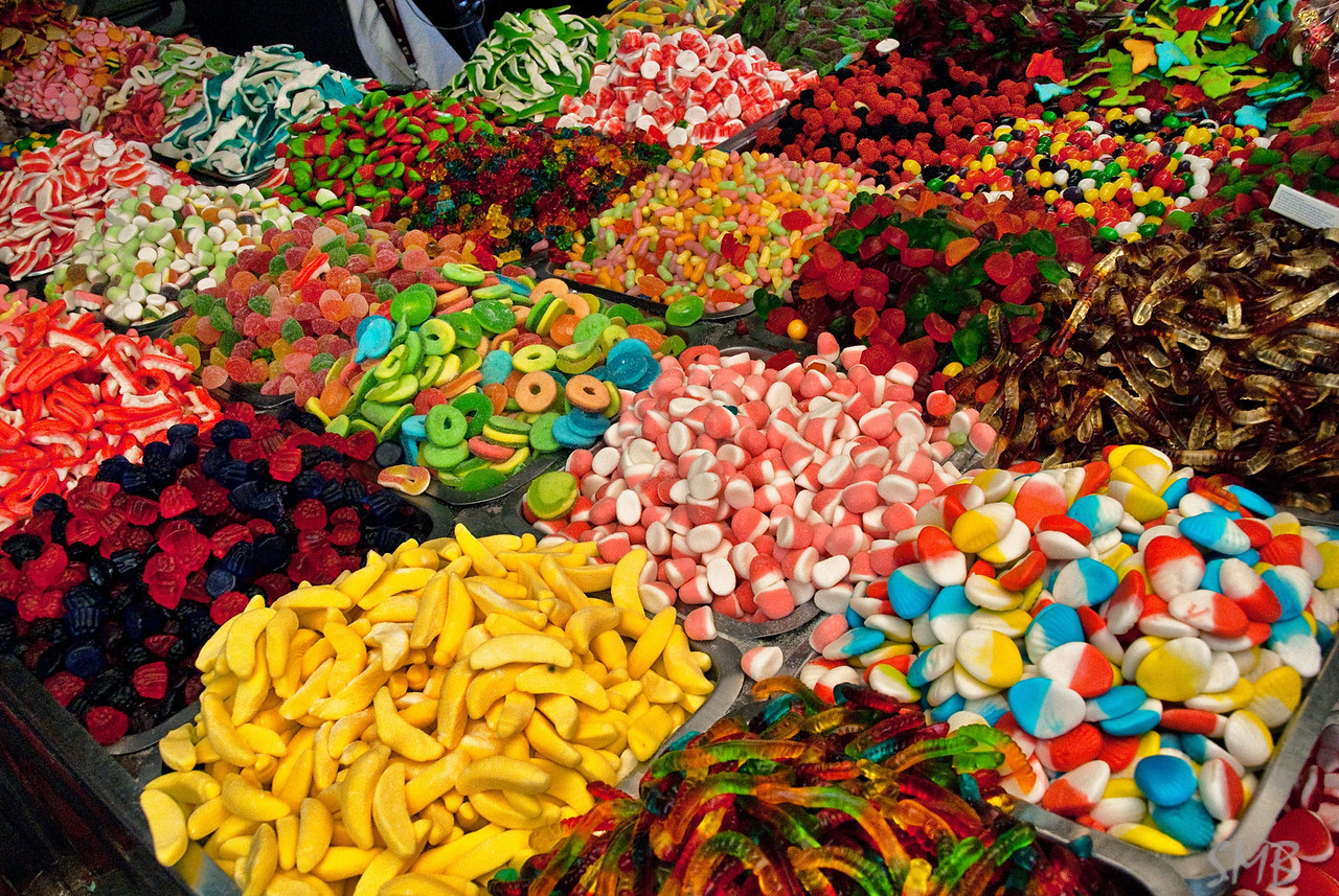 Candy in the market<br /> Tel Aviv, Israel