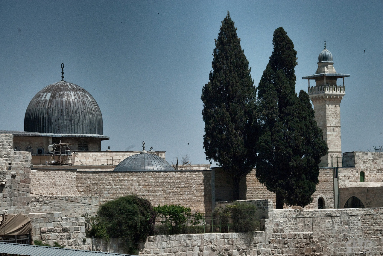 The al-Aqsa Mosque<br /> <br /> Jerusalem, Israel