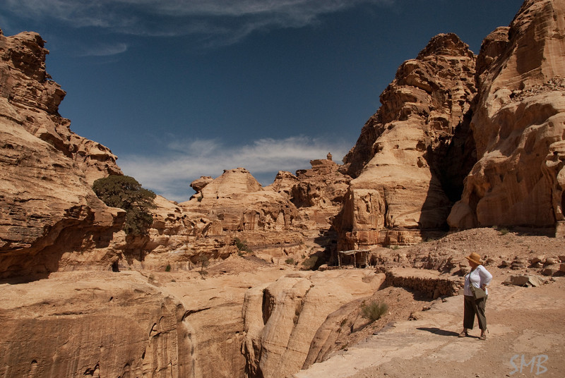 Almost there!!<br /> Petra, Jordan