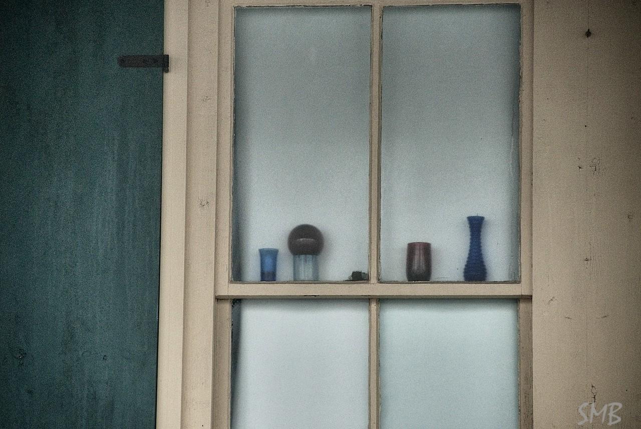 window decorations<br /> <br /> Camp Ellis, Maine