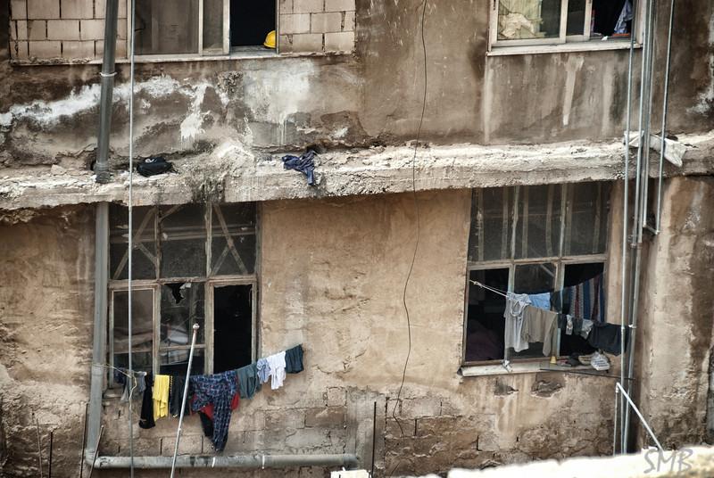 laundry time, again...<br /> <br /> Amman, Jordan