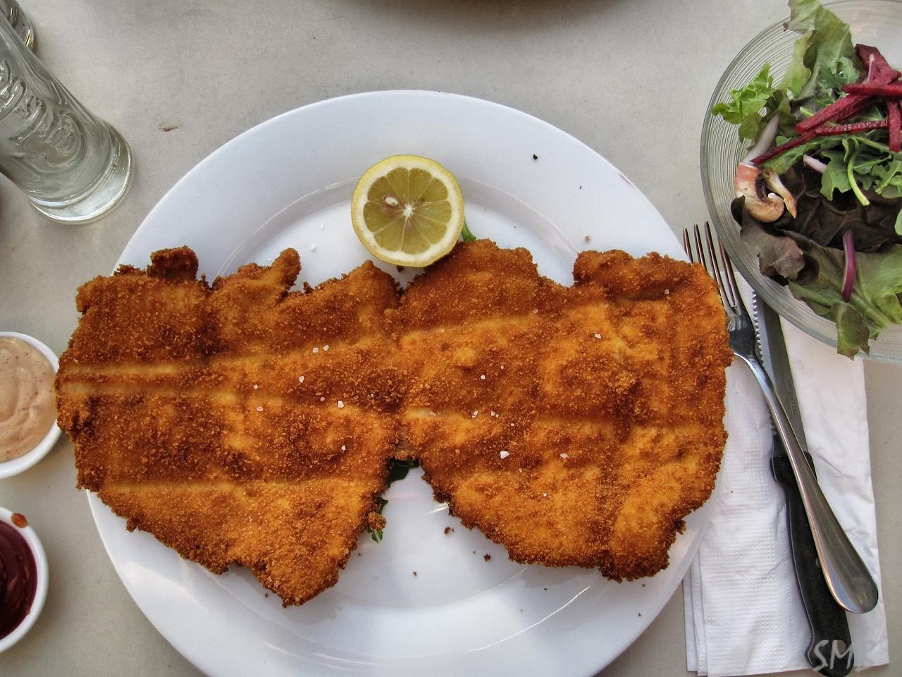 Schnitzel!!!<br /> <br /> Tel Aviv, Israel