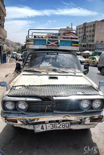 Stylin' ride in Amman, Jordan