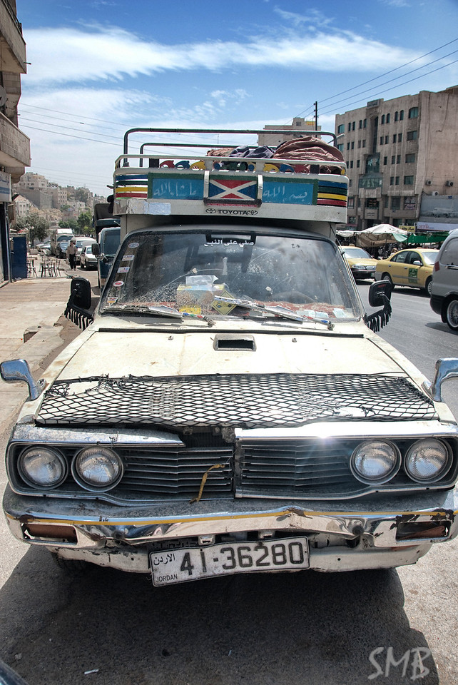 Stylin' ride in Amman, Jordan