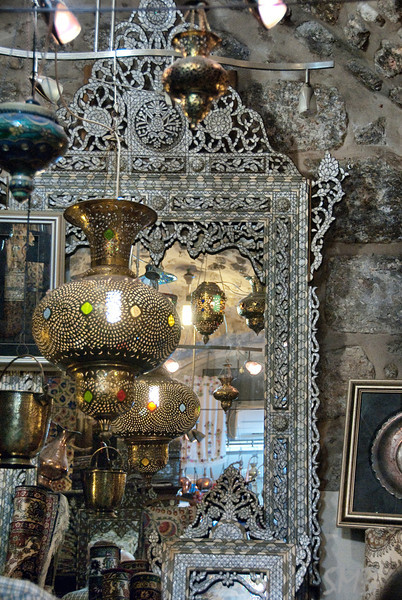 in Jospeh's shop<br /> Jerusalem, Israel