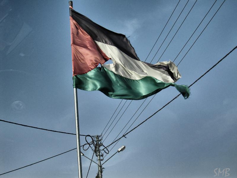 Palestinian flag<br /> <br /> Bethlehem, Palestine