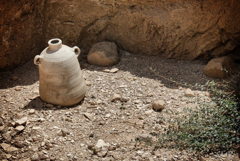 I wonder how old this jug really is<br /> <br /> Masada, Israel