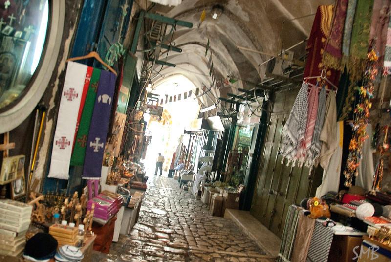 the Christian quarter in Jerusalem, Israel