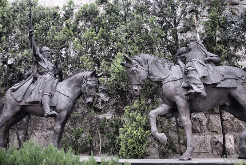 hidden statues<br /> <br /> Jerusalem, Israel