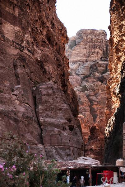 a shop in the gorge<br /> Petra, Jordan