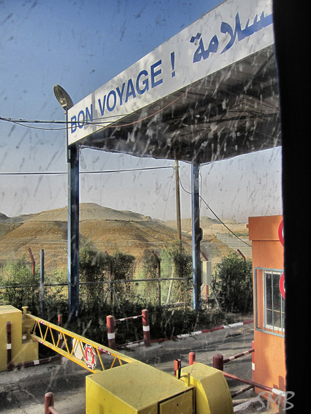 The border wit Jordan