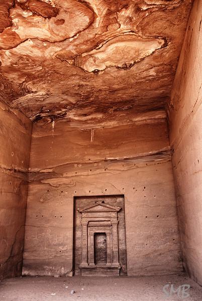 Inside the mountain<br /> Petra Jordan