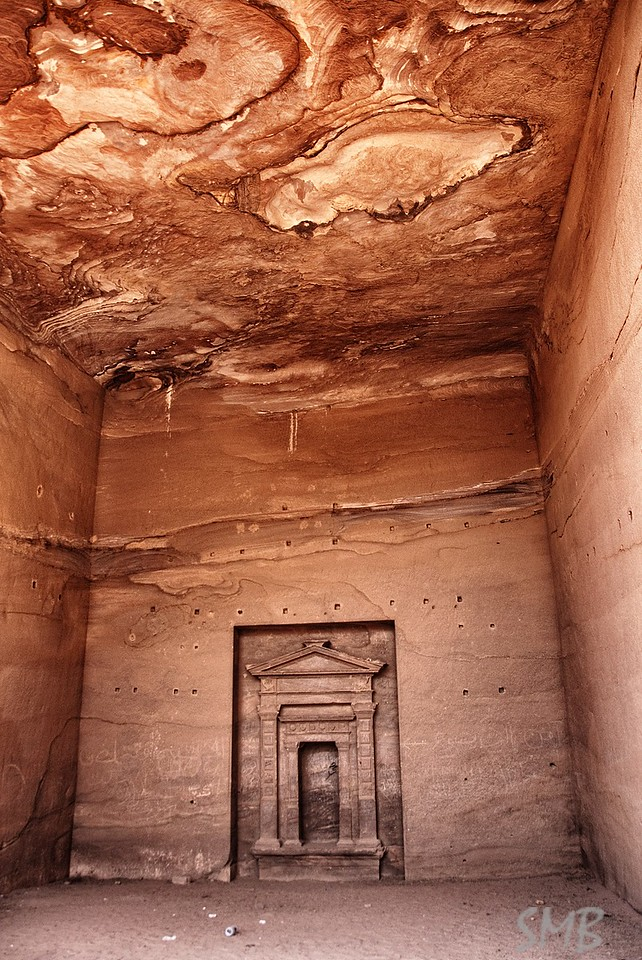 Inside the mountain<br /> Petra Jordan