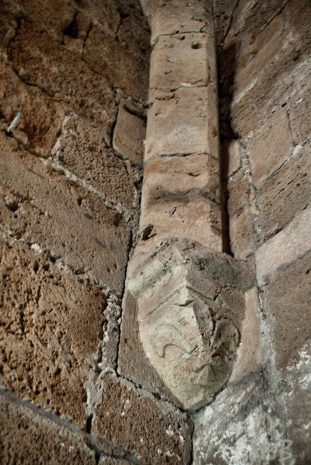 Fleur de Lis in the Knights Hall<br /> <br /> Acre, Israel
