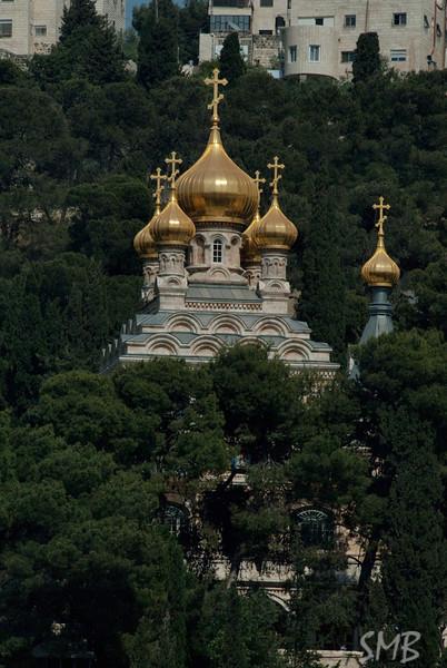 Church of Mary Magdalene<br /> Jerusalem, Israel