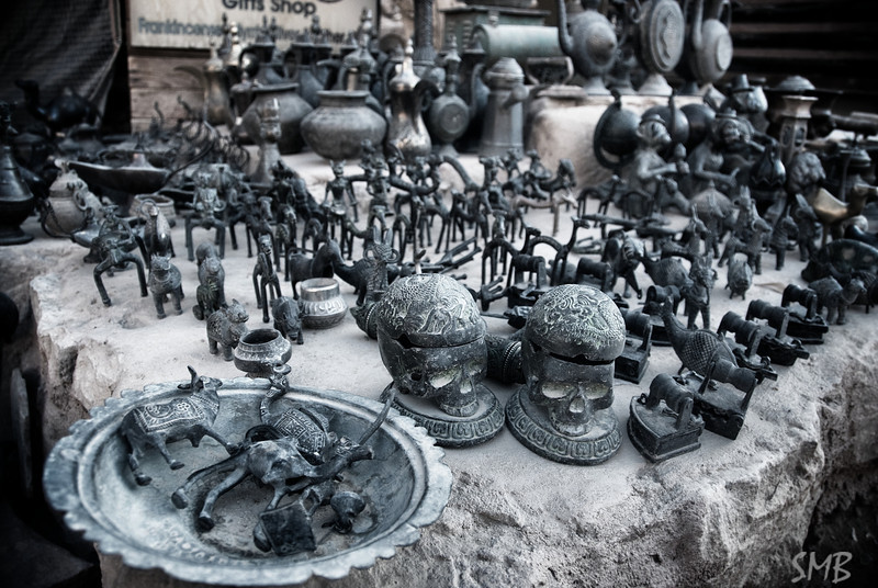 trinkets and dust<br /> Petra, Jordan