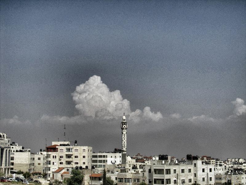 leaving Ramallah, Palestine
