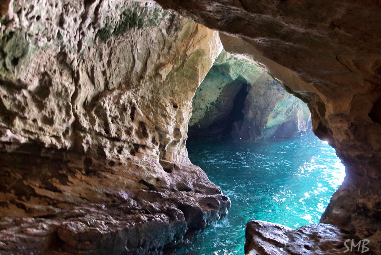 the sea caves at Rosh HaNikra, Israel