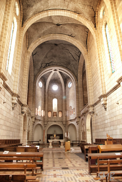 Inside the Trappist monastery<br /> Latrun, Israel